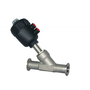 Válvula de assento inclinado em tecnopolímero - Bongas