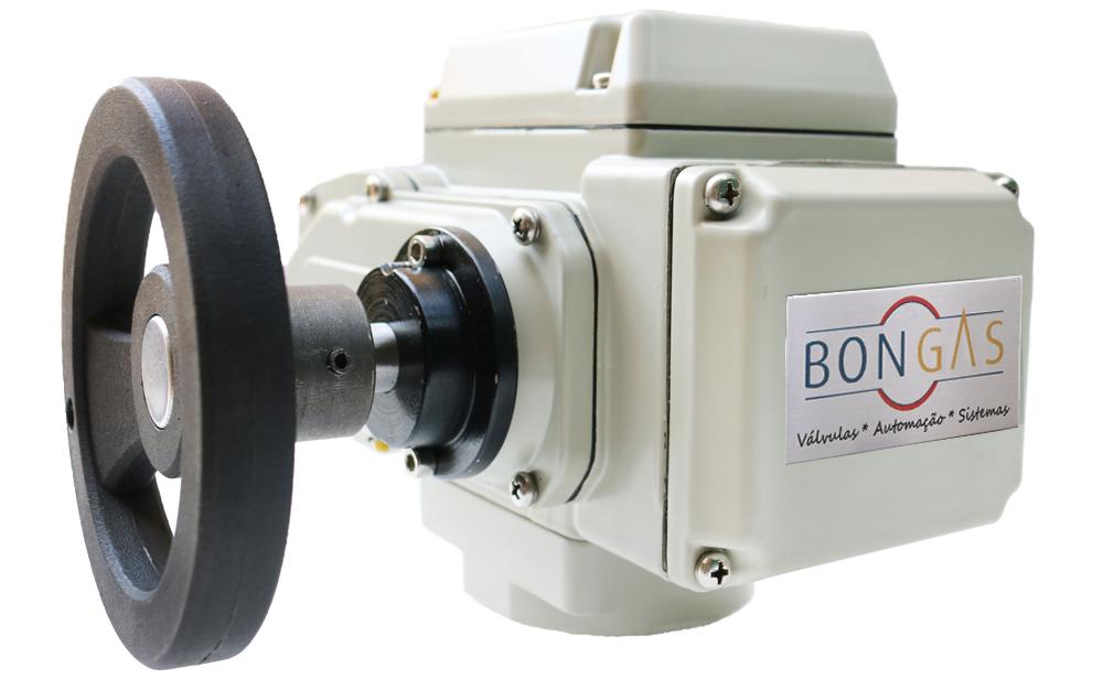 Atuadores elétricos IP67 com volante - Bongas