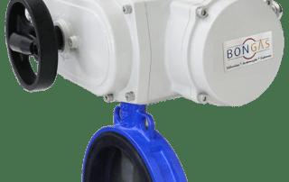 Atuador elétrico Compacto com Válvula Borboleta